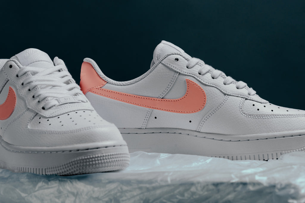 light pink air force 1 high top