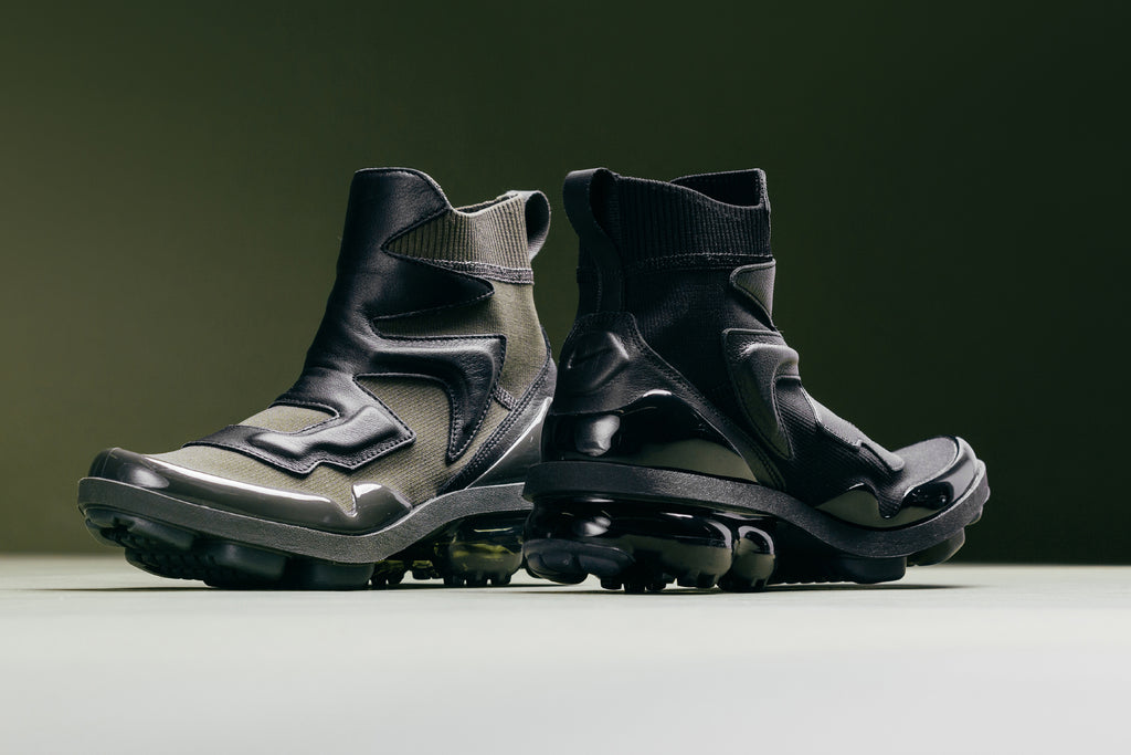 6572a16c01 Officially titled the Air VaporMax Light II ($180), the new silhouette is  dawned in Cargo Khaki and Black colorways ...