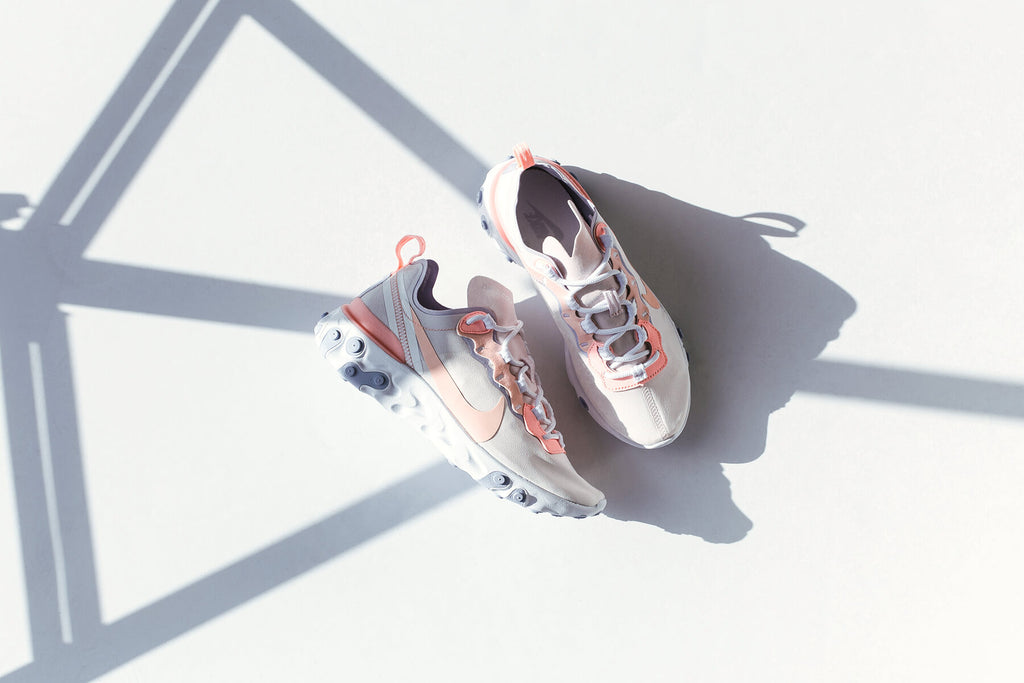 timeless design b8d9a 628e8 Nike presents Women with an exclusive tonal rendition of the Element React  55 ( 130). Incorporating design features from heritage Nike runners such as  the ...