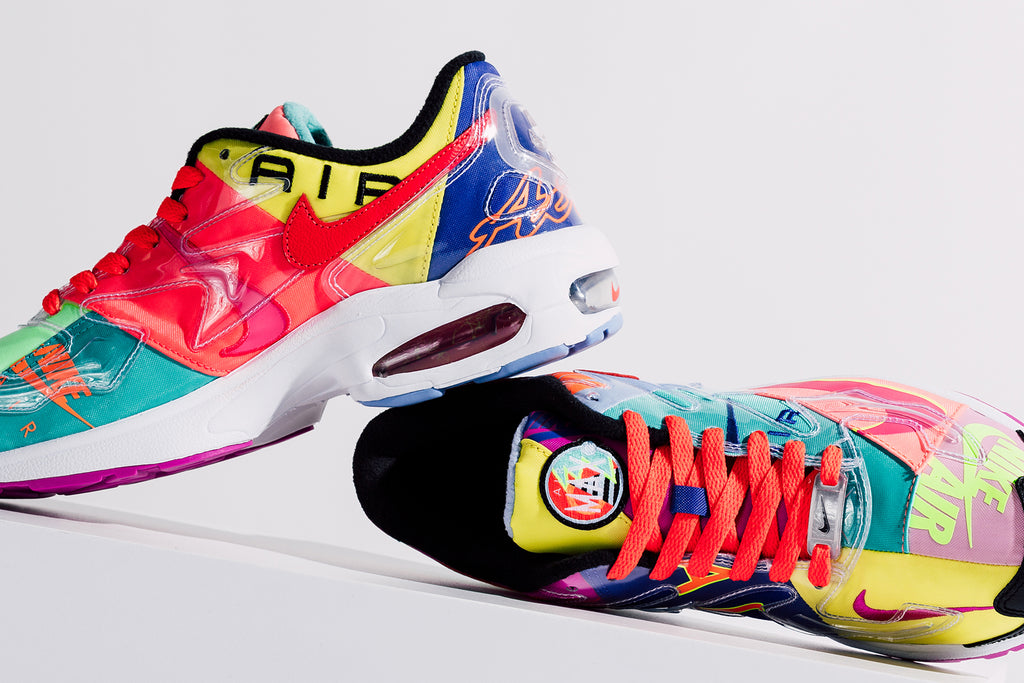 7001f7d733 Nike and Atmos' partnership continues with another collaboration in the  form of a patchwork rendition of the Air Max2 ($160). Nike and Atmos  repurpose some ...