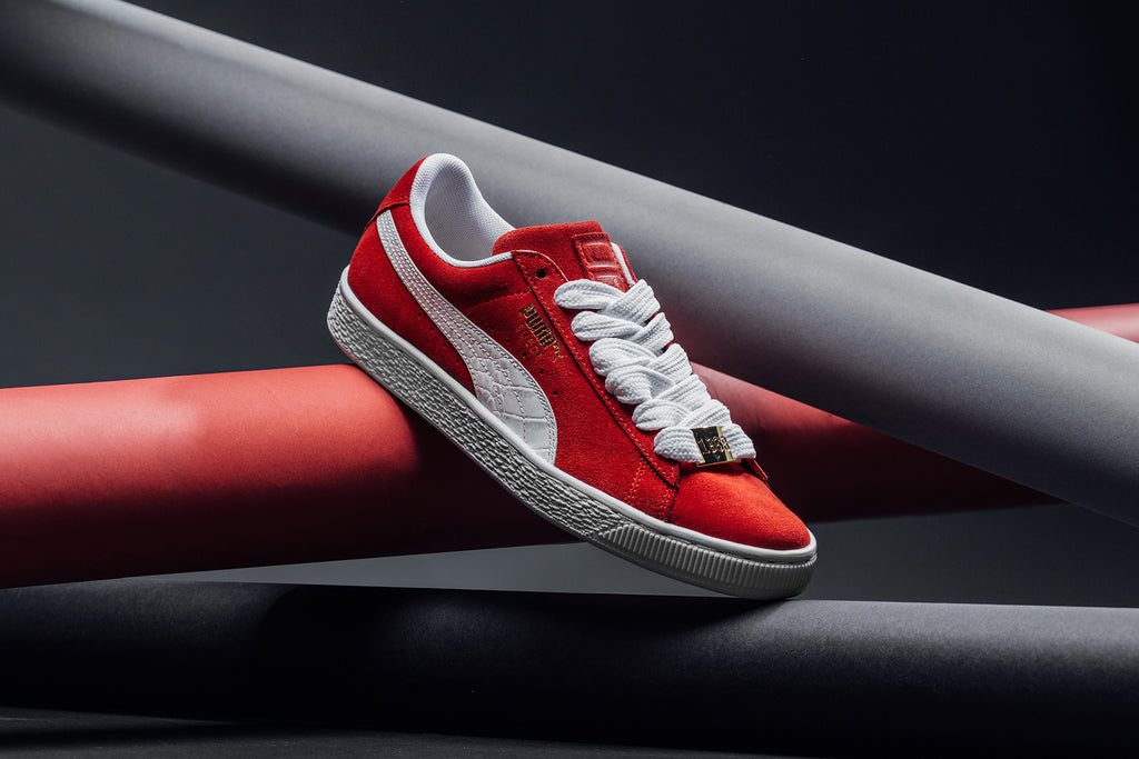 f0c31be15e28 Puma present a trio of Suede Classics for their 50th anniversary. Dubbed  the  BBOY Fabulous Pack  these classics take it all the way back.