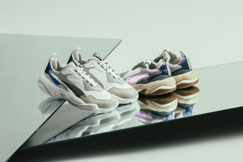6145279948a5bd Puma introduces a new silhouette to their footwear line for women with the Thunder  Electric