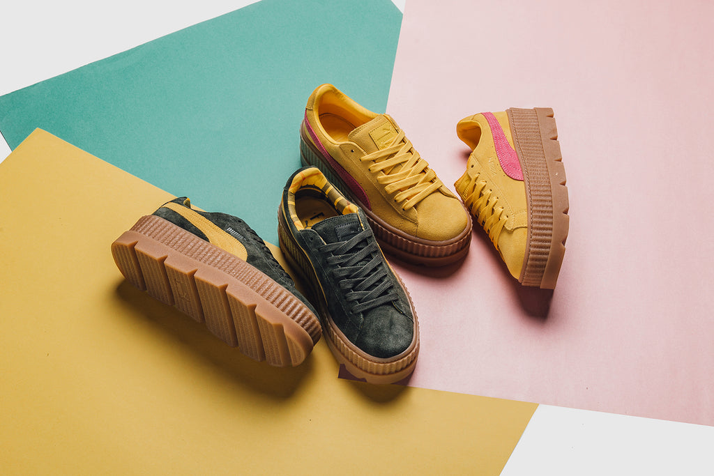 44b12e3dfdd Puma x Rihanna Fenty Cleated Creeper Collection Available Online Tonig –  Feature Sneaker Boutique