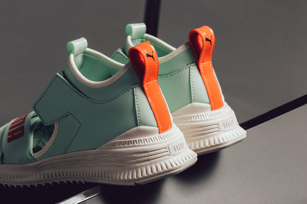 3a0b9a32f3b Puma and Rihanna continue their ongoing partnership with another new  footwear collection. The latest model