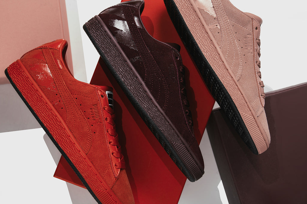 promo code 73044 64c51 Puma x MAC Suede Collection Available Now – Feature
