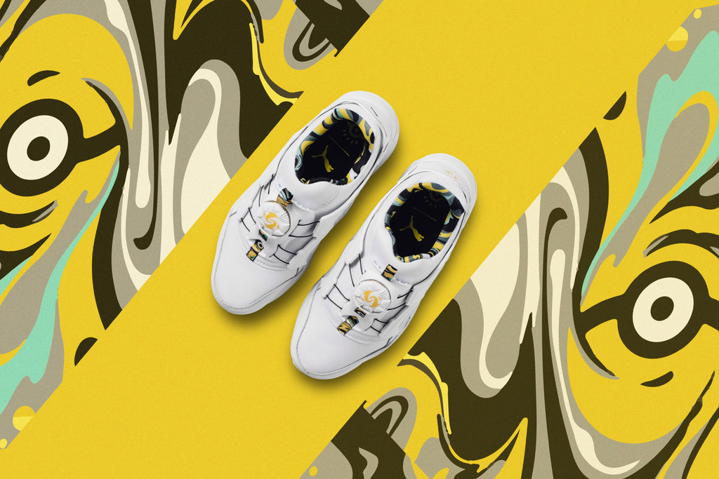 0f2ce582f45 Puma teams up with the famous Despicable Me characters for a fun-filled  Minion-takeover on two of their most iconic silhouettes.