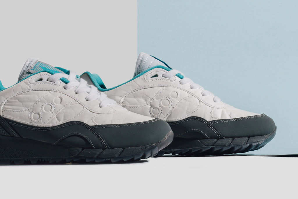 info for 52dd7 97419 Saucony presents a space inspired duo of their classic Shadow 6000 MD model  ( 120). The brand showcases the retro runners with crinkled material ...