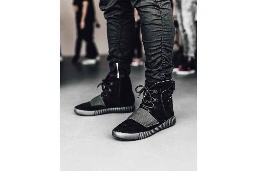 6bad37c225ca5 Staff Dress  Adidas Yeezy Boost 750  Triple Black