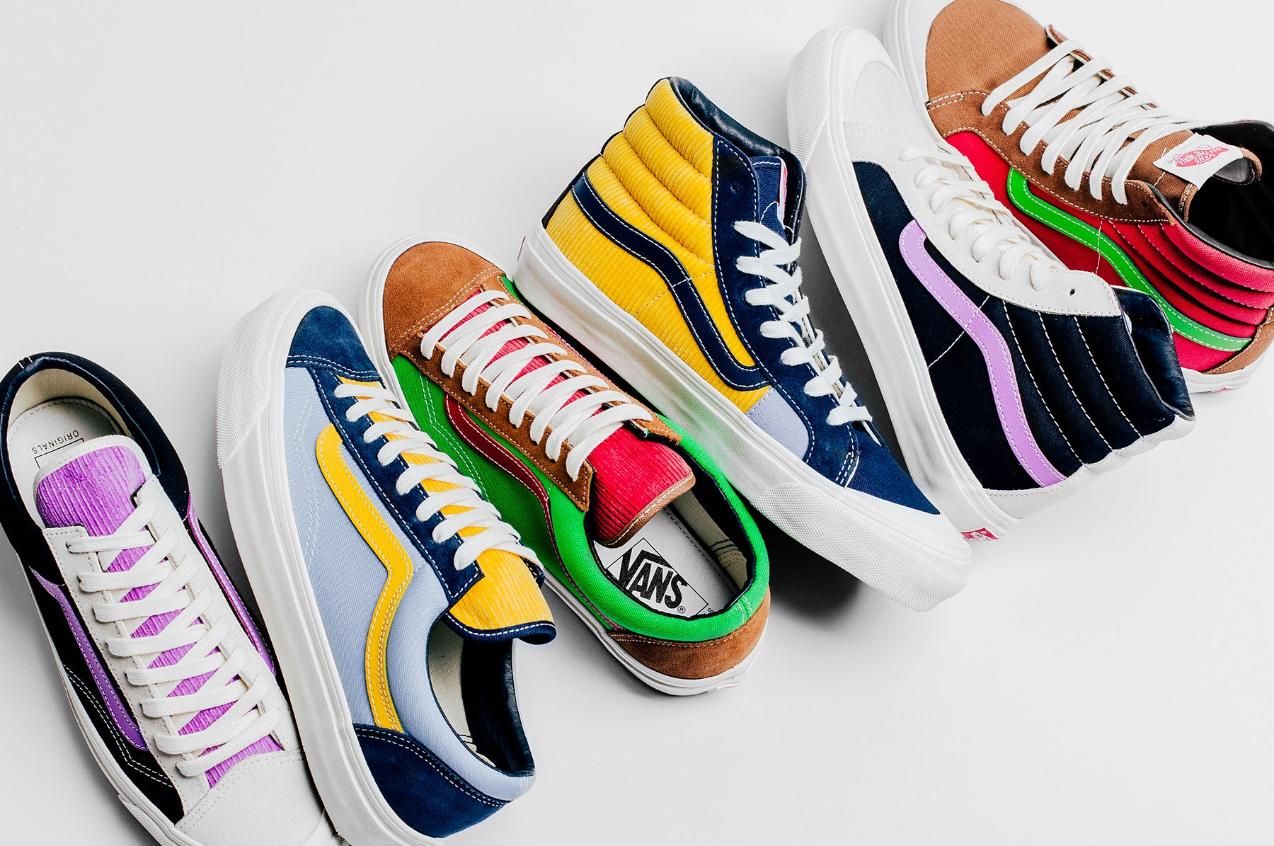 New Releases from Vans Vault Available