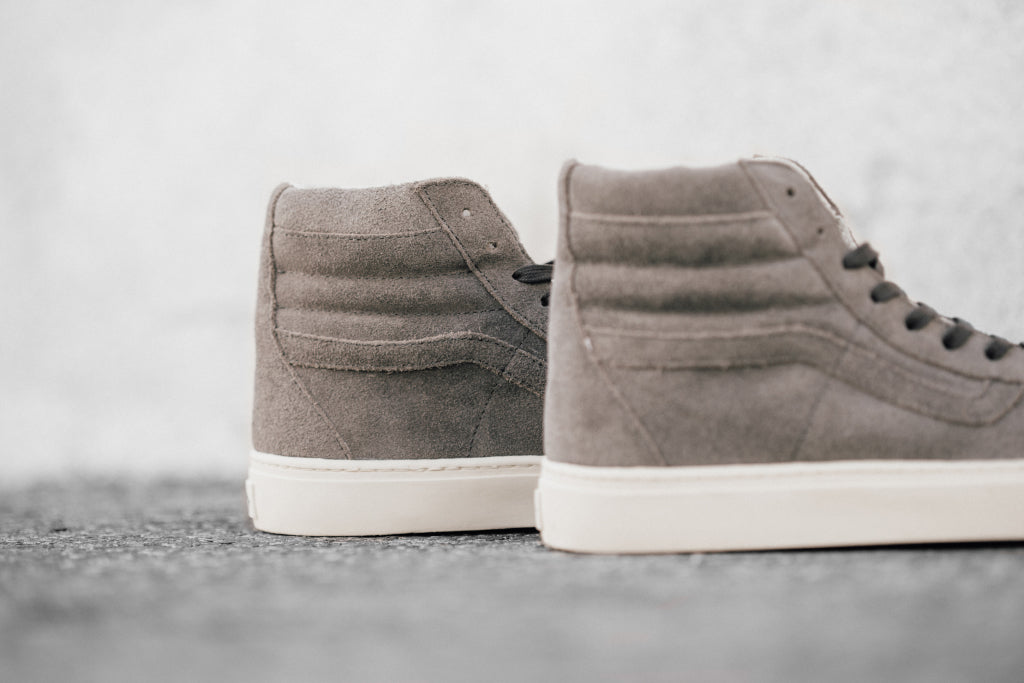a4e89680e4 Vans CA Waxy W R Suede SK8-Hi Cup In Smoke Turtledove Available Now