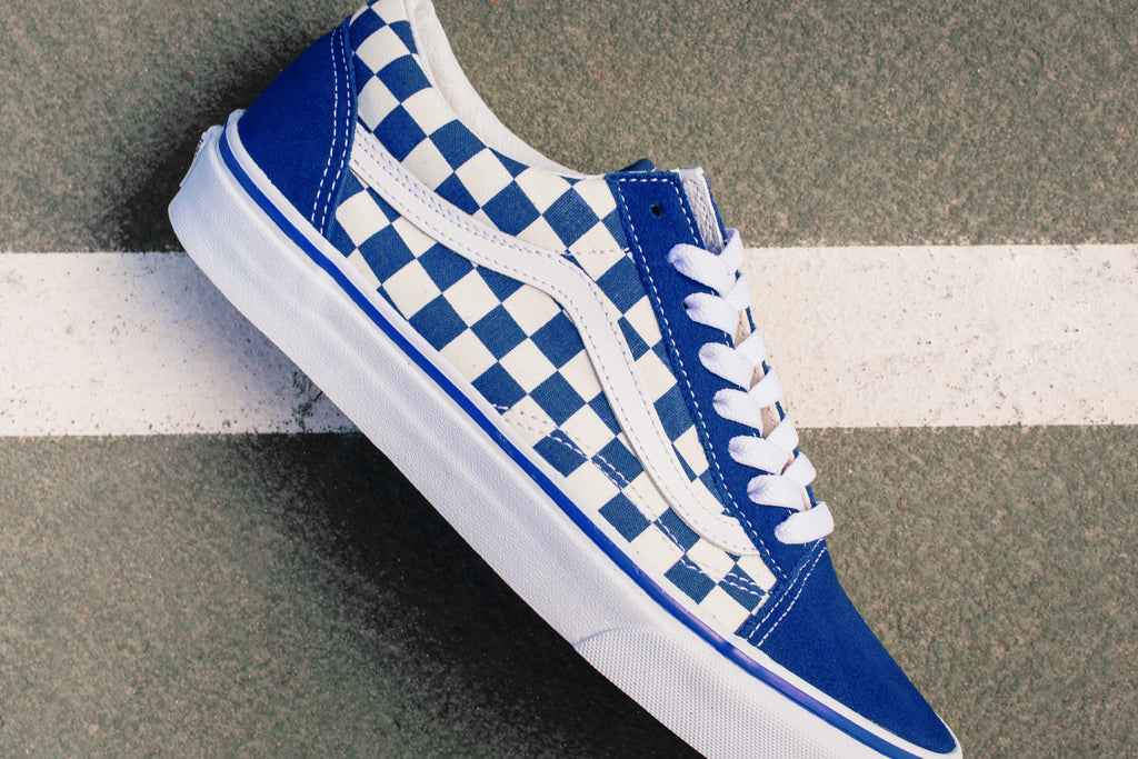 red vans old skool checkerboard