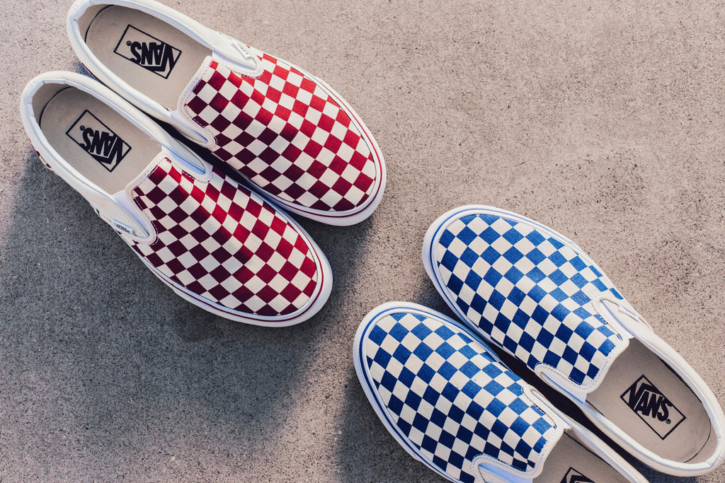 2759987b3f34 Vans Checkerboard Slip-On Pack Available Now – Feature Sneaker Boutique