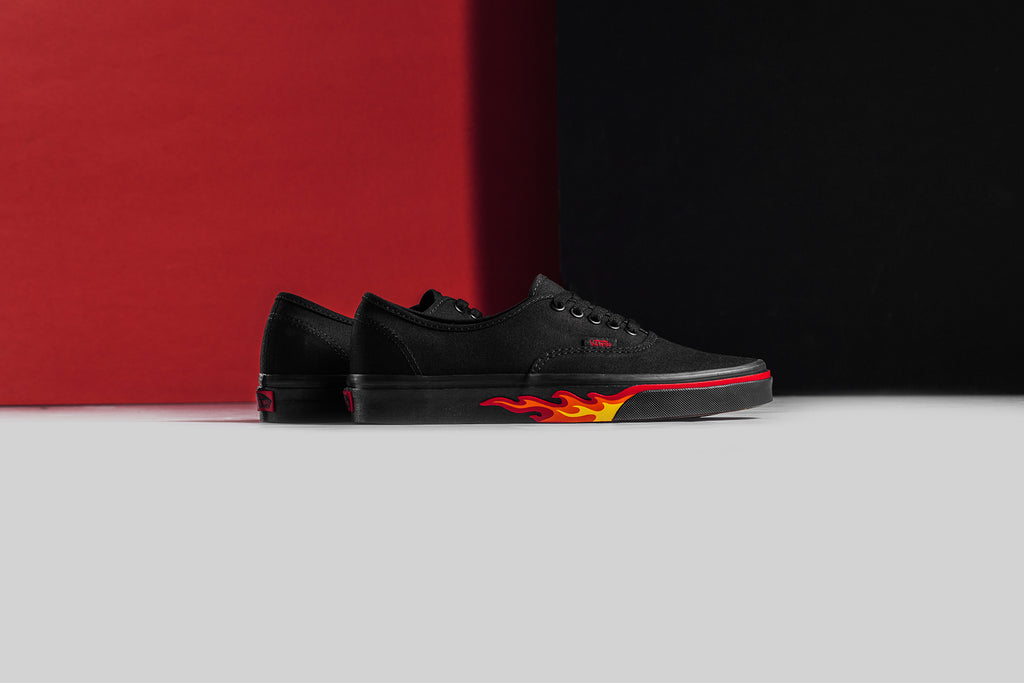 Vans  Flame Wall  Collection Available Now – Feature Sneaker Boutique ac3811863