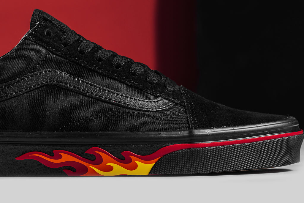 niskie ceny gorący produkt duża zniżka Vans 'Flame Wall' Collection Available Now – Feature