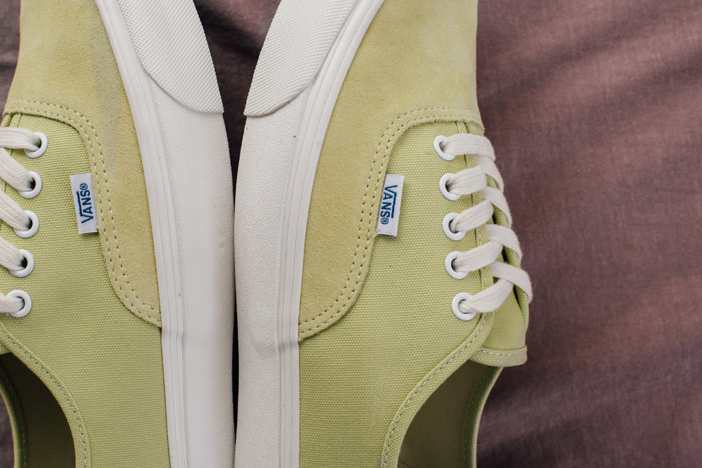 75fa97bac25 Vans Vault OG Authentic LX Suede Canvas Collection Available Now ...