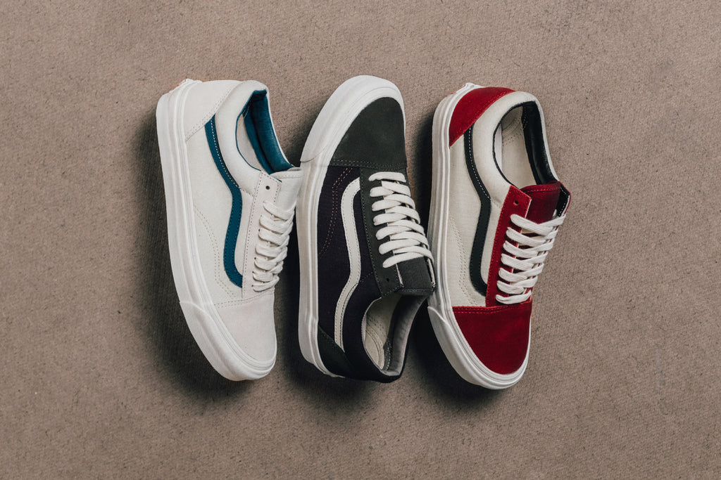 5262d65d4f0 Vans Vault Suede Canvas Old Skool Collection Available Now – Feature Sneaker  Boutique