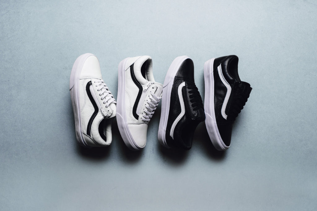 b5c04553a6 Vans Premium Leather Old Skool Zip Pack Available Now