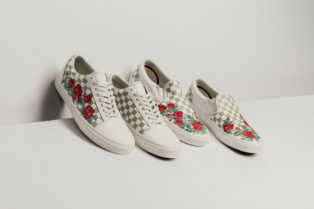 9f6ae70e6bee Vans expands their SS18 collection with two new iteration to the Old Sool  DX ( 100) and Slip-On DX ( 65) silhouettes. The latest take on the classic  models ...