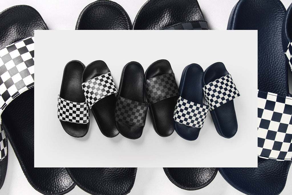 f3b1b7be5b Vans expands spring offering with three iteration of the newly-designed  slide model ( 30). The latest sandals feature synthetic leather straps with  soft ...