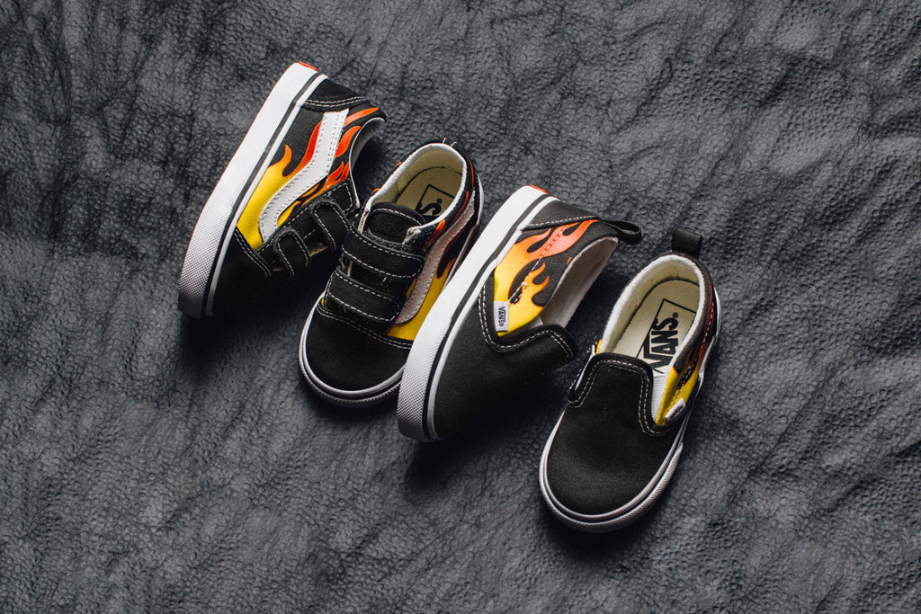 01f3b558d8 Vans Toddler Flames Collection Available Now – Feature Sneaker Boutique