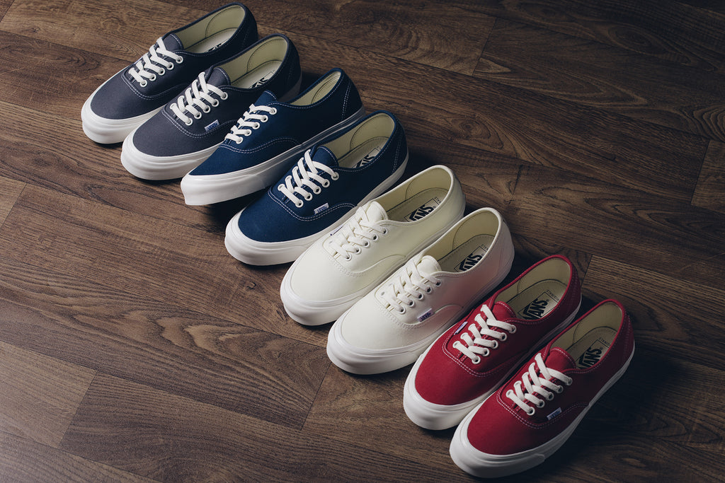 c49b9e8ff754 Vans Vault brings back the classics this summer with their OG Authentic  LX collection ( 60). This assortment of OG style sneakers features a higher  cut ...