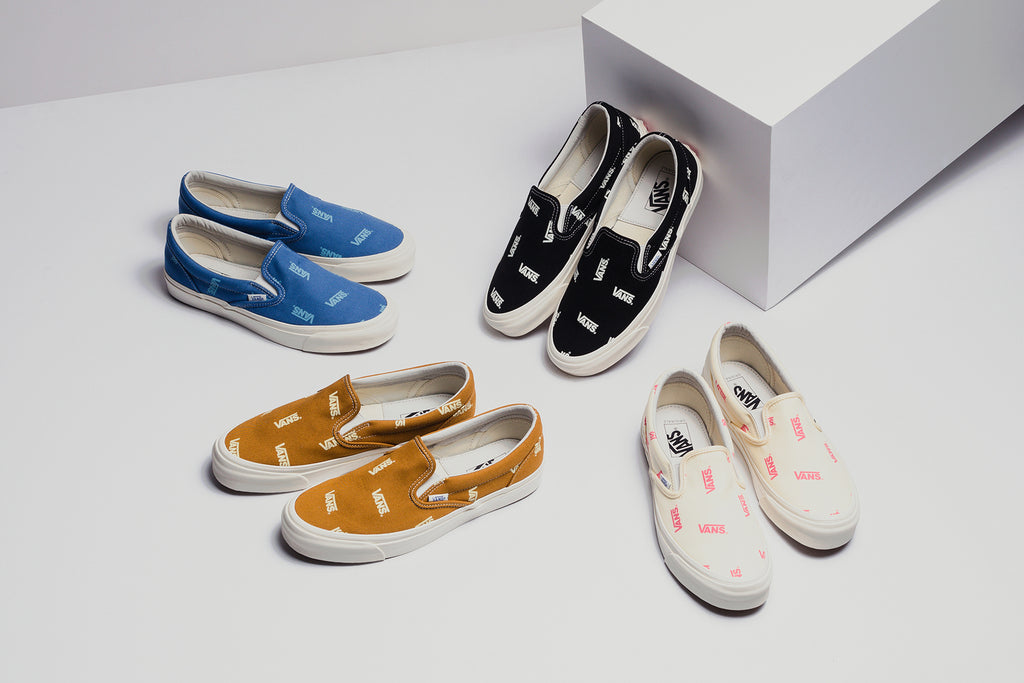 f15f05d630d Vans Vault OG Classic Slip-On LX Pack Available Now – Feature Sneaker  Boutique
