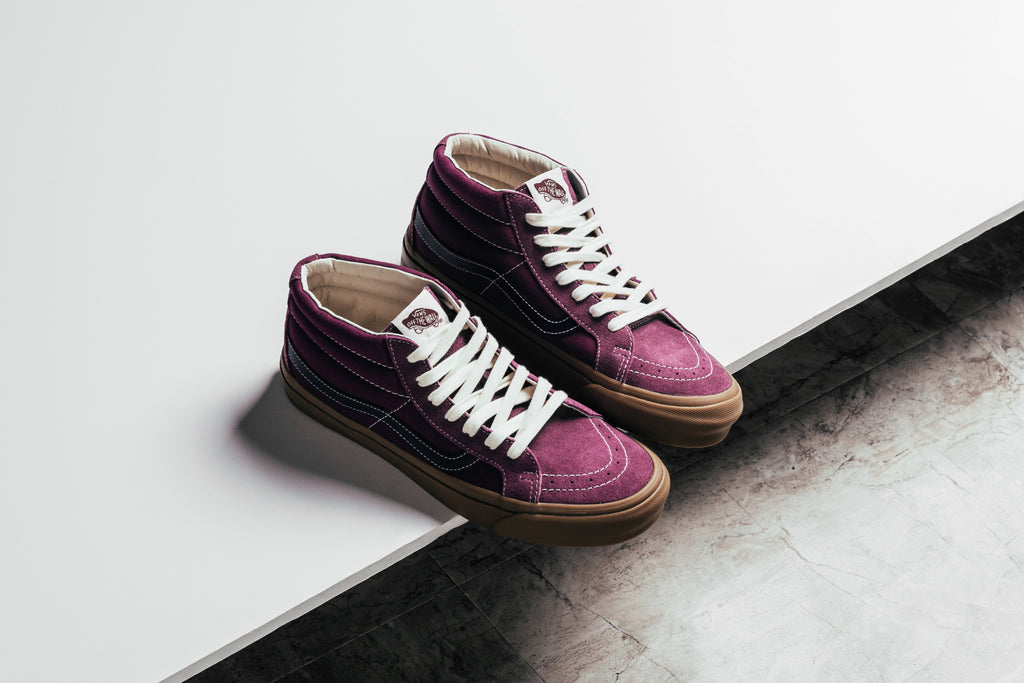 251504be01 Vans Vault expands their seasonal offering with four new takes to the  classic Sk8-Mid silhouette ( 75). This time around