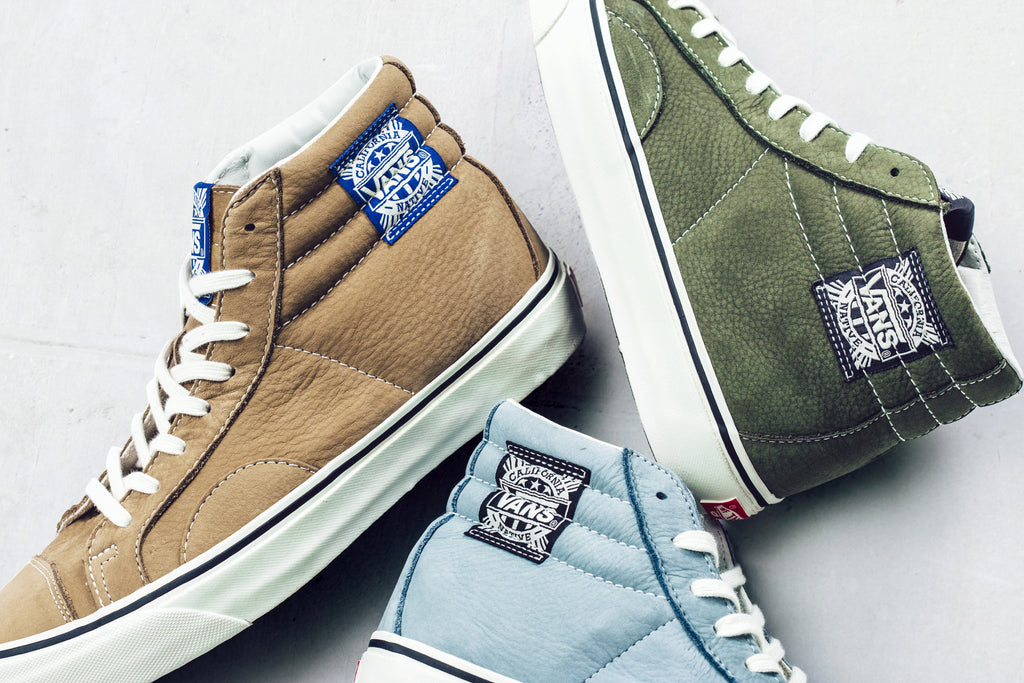 d98ed9935a7e8d Vans Vault gets ready for the upcoming season with their latest footwear  release. Their most recent collection features Winter Moss