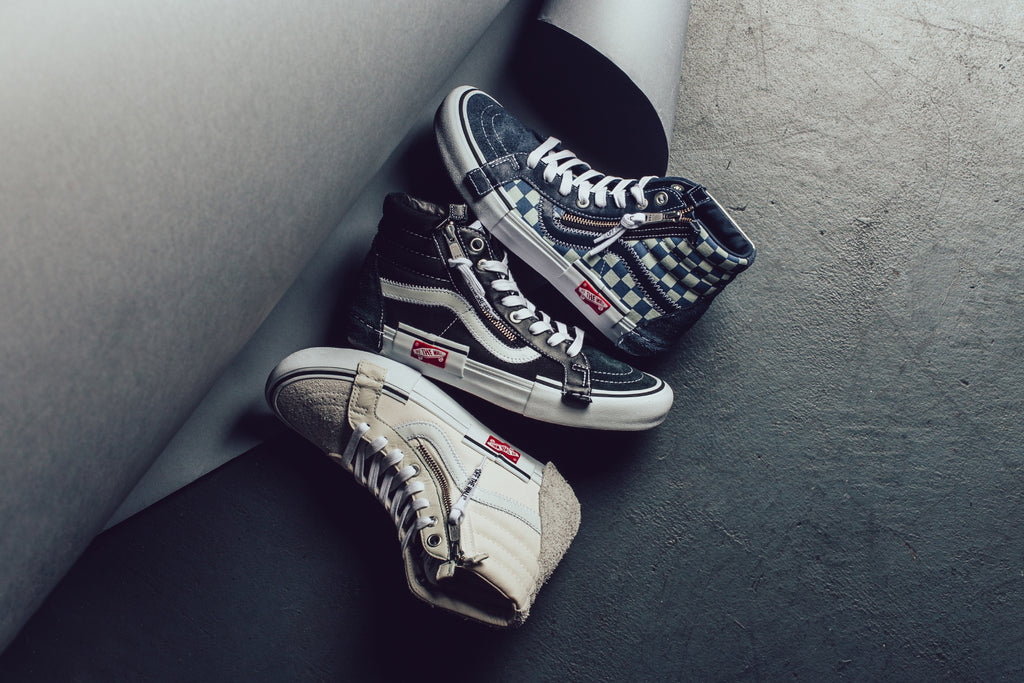 Vans Vault Sk8 Hi Cap Lx Feature Sneaker Boutique