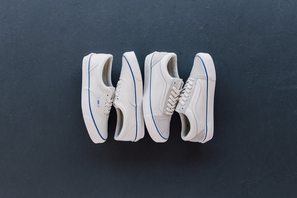 071732eea0 Vans Vault  Marshmallow Suede   Canvas  OG LX Pack Available Now