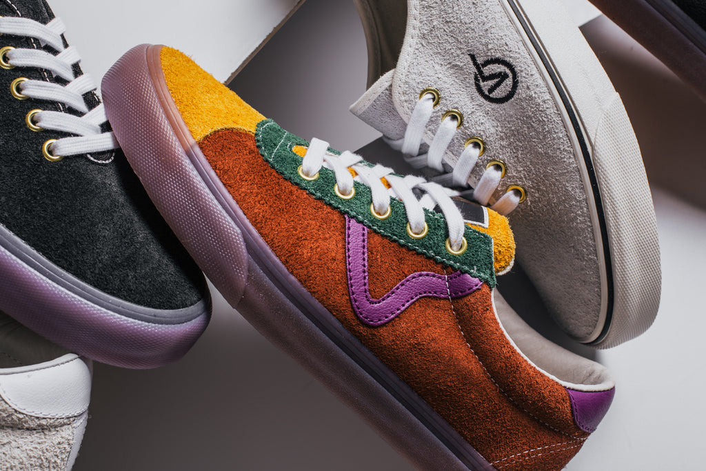 Vans Vault in collaboration with LQQK Studio present a collection of vans  with unique twists and premium materials ( 100- 110). 07cb672cf