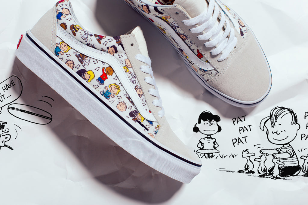 94cb78edfb Vans expands their collaborative collection with Charles M. Schulz s and  the entire Peanuts gang for fall. The latest delivery includes Old Skool