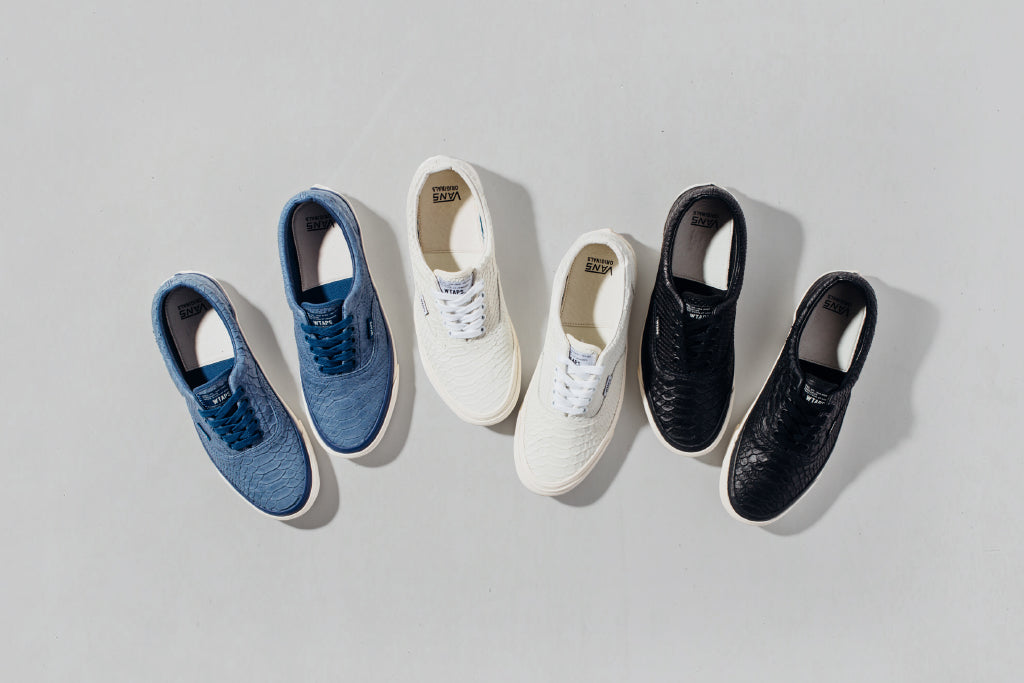 8c48ede1b8eaf6 Vans Vault x WTAPS  Anaconda  Era Collection Available In-Store Tomorr – Feature  Sneaker Boutique