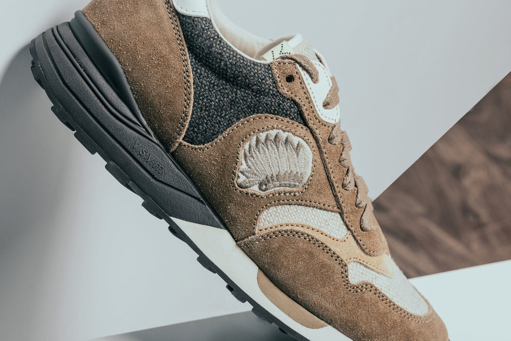 Visvim presents their Roland Jogger ( 990) for the upcoming season. The  runner features a unique upper constructed of lush suede 53ae47cf9