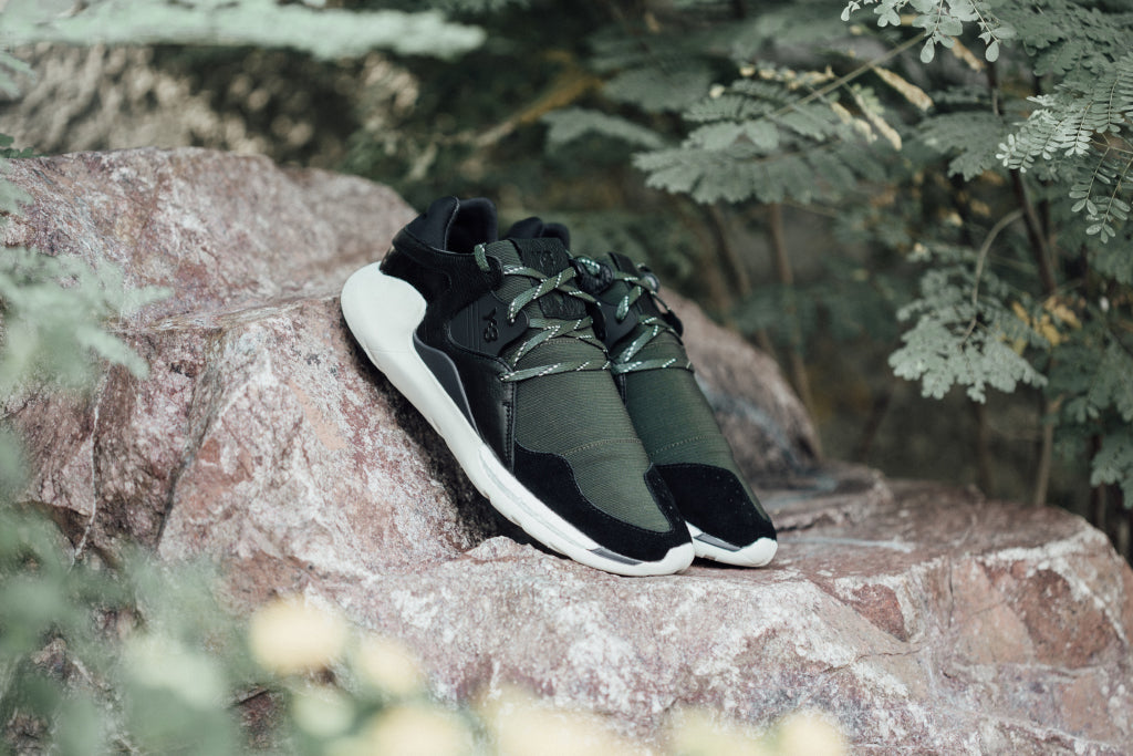 346bf8f91041 Y-3 Boost QR In Night Cargo Black Navy Available Now