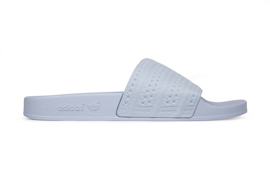 ... Adidas Originals Adilette Slides - Easy Blue ...