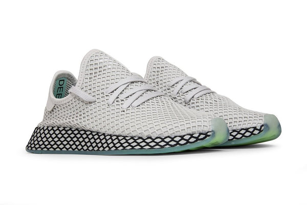 Adidas Originals Deerupt Runner - Grey/Clear Mint