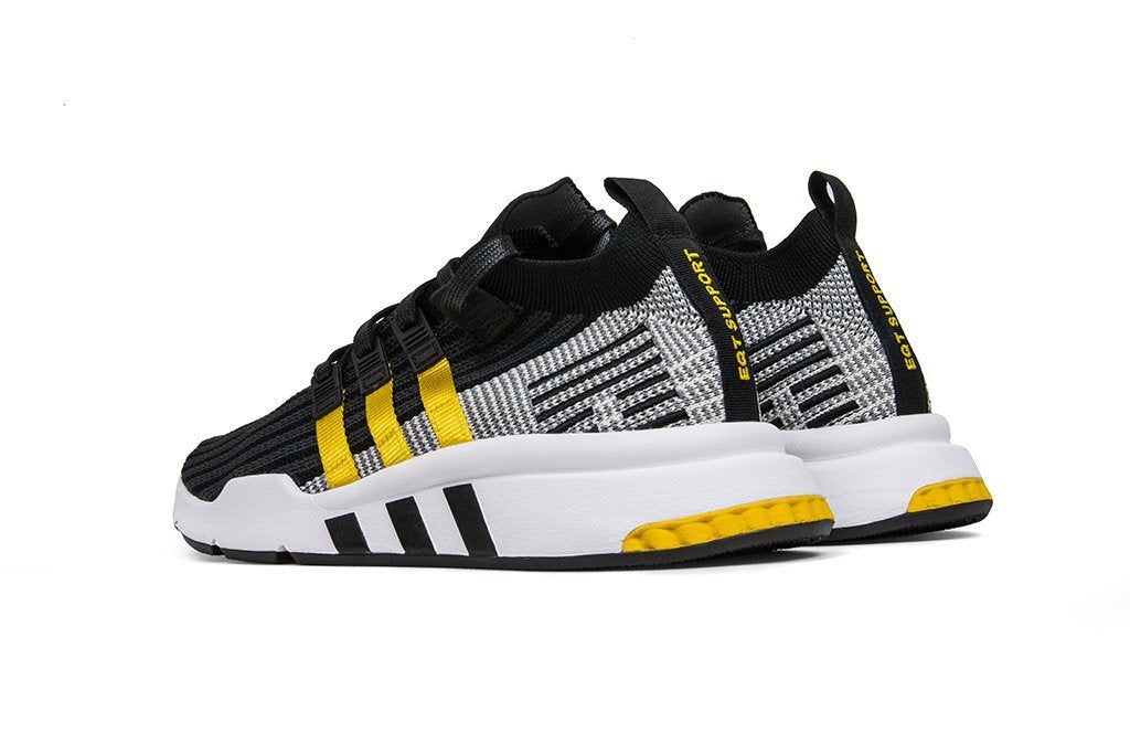 635837bd24ca ... sweden adidas originals eqt support mid adv primeknit core black eqt  yellow flat white a2a69 ad6be