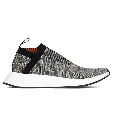Adidas Originals NMD_CS2 Primeknit - Core Black/Core Black/Burgundy