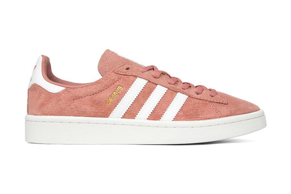 Adidas Originals Women's Campus - Raw Pink/White : BY9841 Side