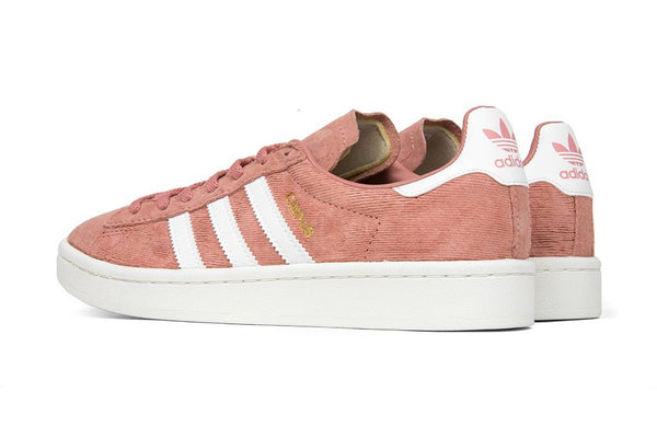 Adidas Originals Women's Campus - Raw Pink/White : BY9841 Rear Angle