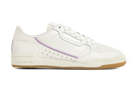 Adidas Originals Women's Continental 80 - Off-White/Orchid Tint
