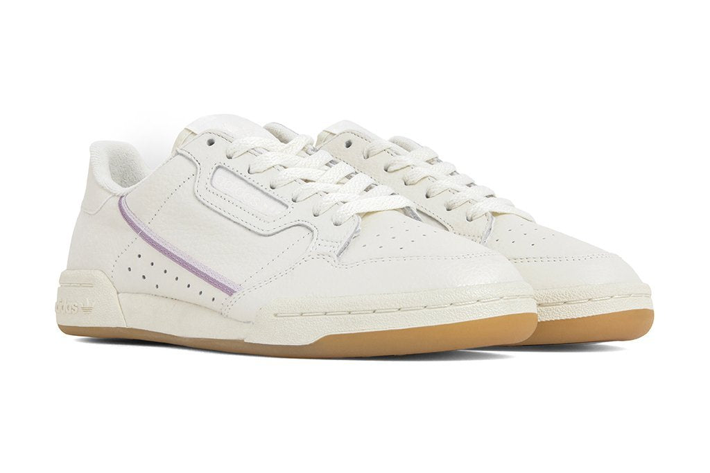 d7ff1b7c3e5 Adidas Originals Women s Continental 80 - Off-White Orchid Tint .
