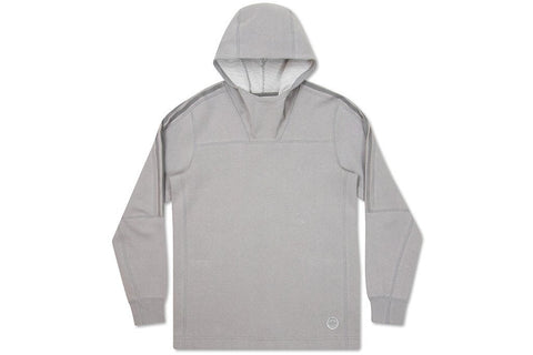 Adidas x Wings + Horns Bonded Linen Hoodie - Multi Solid Grey