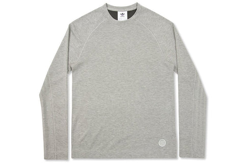 Adidas x Wings + Horns L-S Tee - Sesame - BR0159 Front