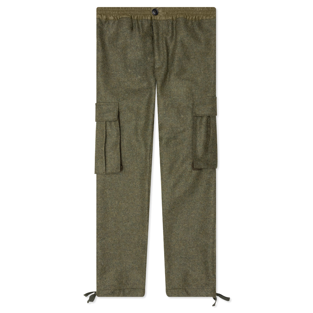 Feature Montgomery Cargo Pant - Green Peat Moss