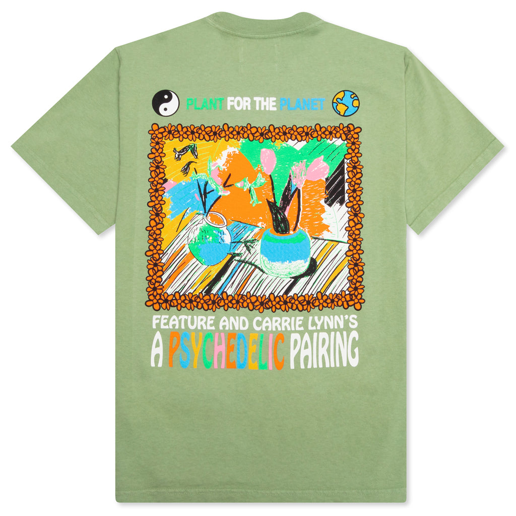 Feature x Carrie Lynn's Plants Painting Tee - Basil