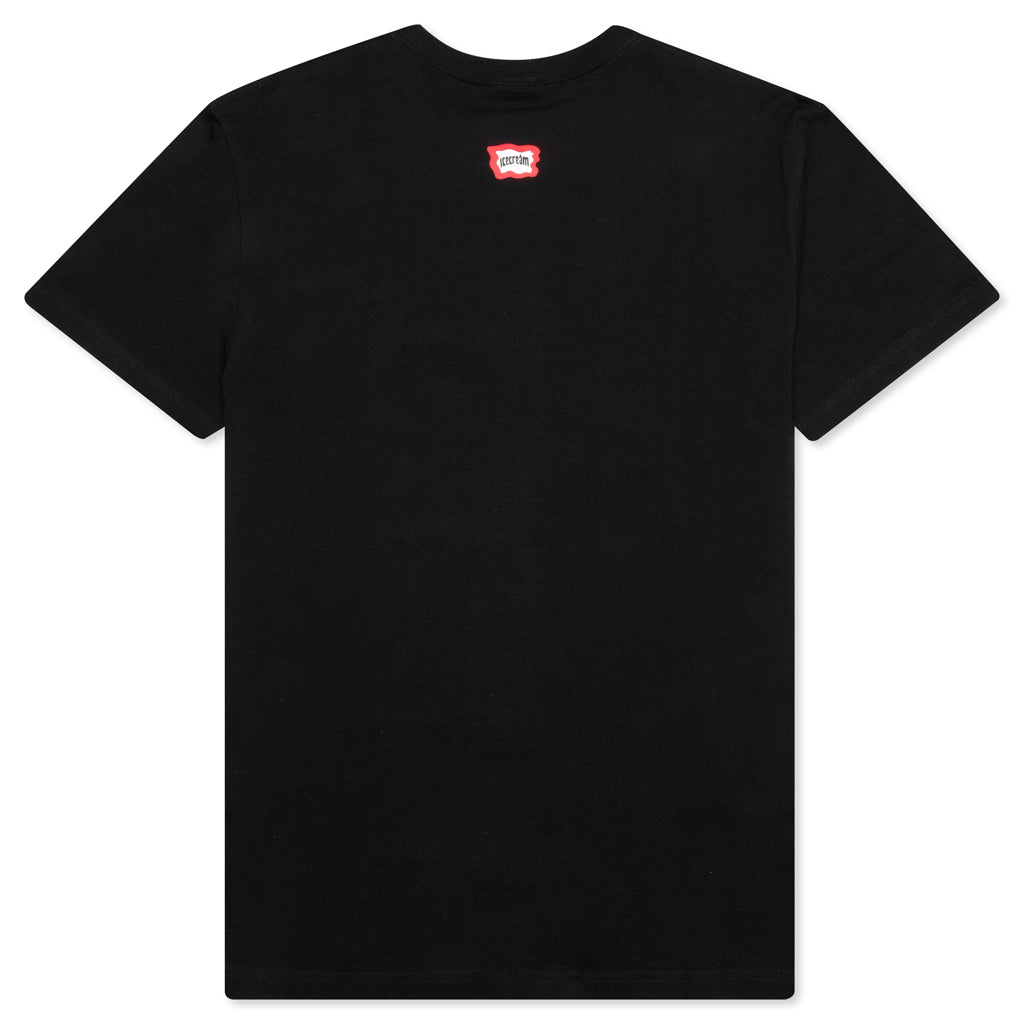 Icecream Fossil Fuel S/S Tee - Black