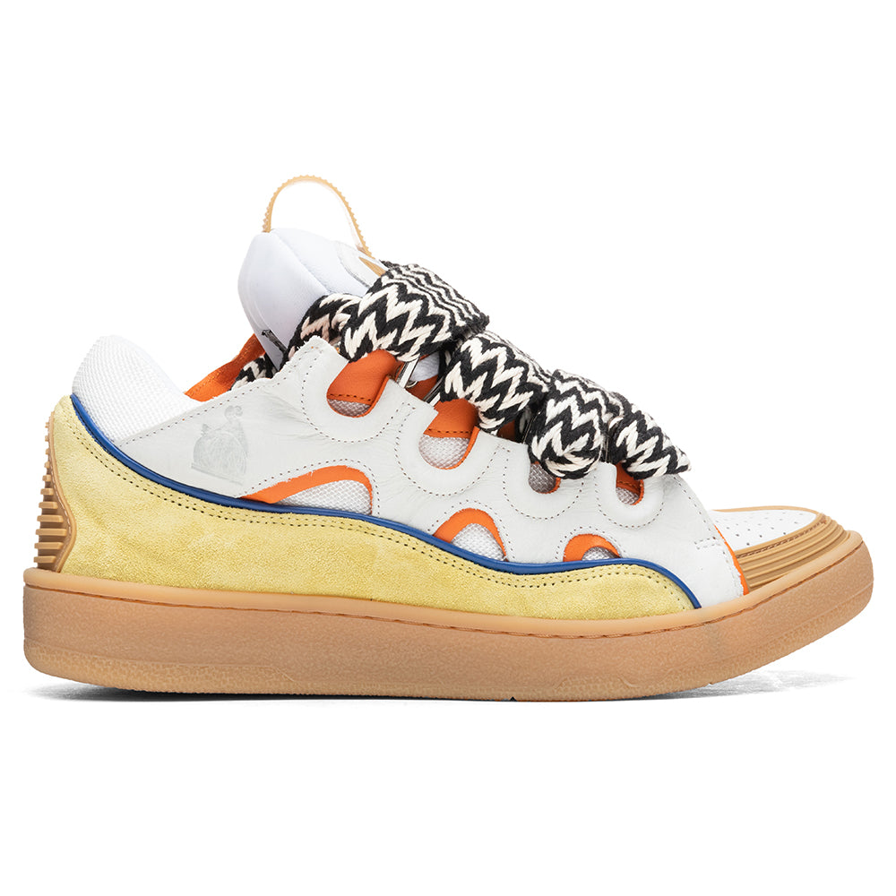 Lanvin Curb Sneakers - White