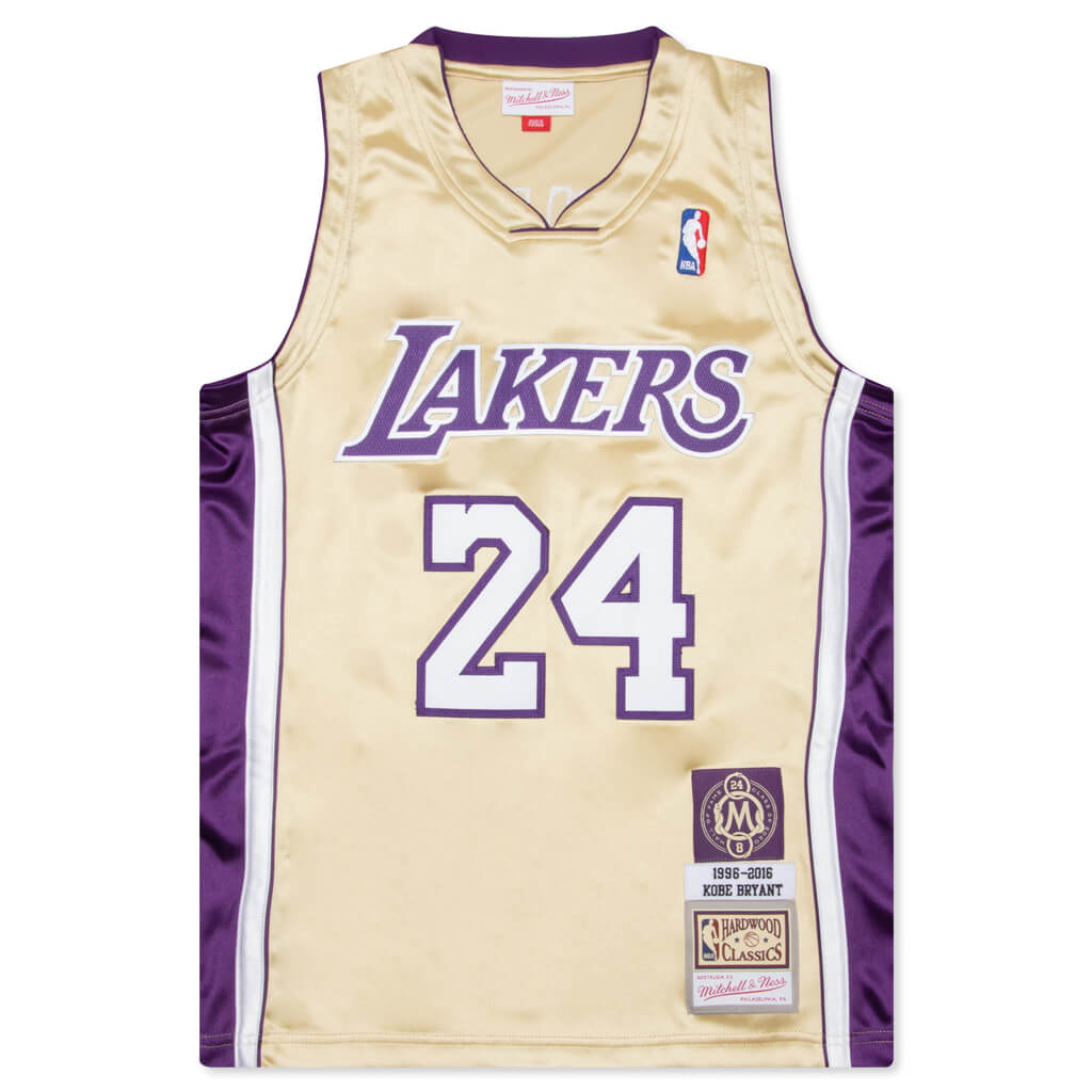 Mitchell & Ness Kobe Bryant Los Angeles Lakers Authentic Jersey ...